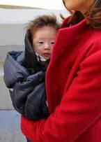 《秋生まれベビーの外気浴》おさんぽデビューは、寒さ対策を! 秋~冬の新生児のおさんぽのポイント