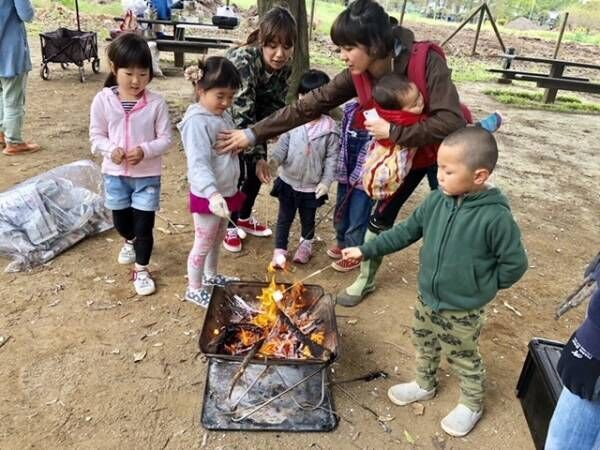 《BBQやキャンプの季節到来!》子連れアウトドアを楽しむ、外おやつって? &子連れおすすめキャンプ場