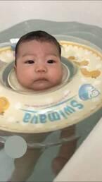 《ベビーのプールデビュー♡》はじめてのプールはスイマーバで! いつから、いつまで使えるの?