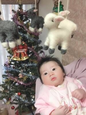 《生まれたての赤ちゃんに♪》メリーってどんなもの? 赤ちゃんの反応は? 実際に使ってみました
