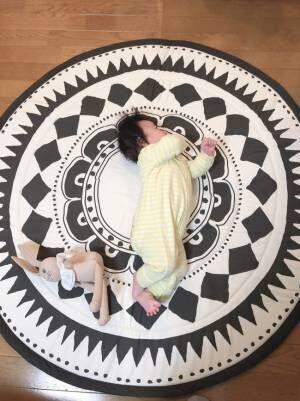 《ゴロン期の赤ちゃんに》安心安全のびのびできる♪ 我が家のお気に入りプレイマットはこれ