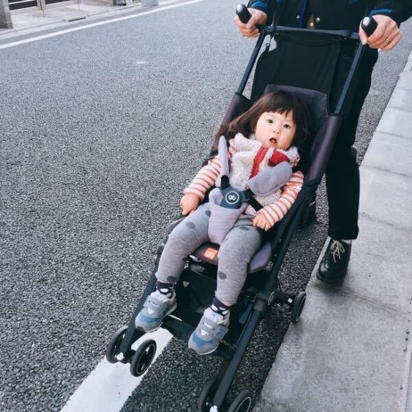 《連休の旅行用に購入♪》世界最小バギーがすごい! 飛行機も新幹線も、自転車のお出かけだって楽チン♡