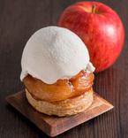 """焼リンゴとホイップクリームが贅沢すぎる「ほぼ""""まるごと""""焼リンゴパイ」"""