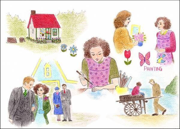 映画『しあわせの絵の具 愛を描く人モード・ルイス』感想。人生は美しい色であふれている