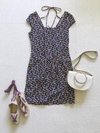 パリジェンヌの夏ファッションはプリント柄ワンピで作る