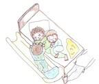 親子3人、4人…。ベッドで寝てる? 布団で寝てる?