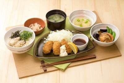 【ガスト】牡蠣とホタテのご馳走和膳