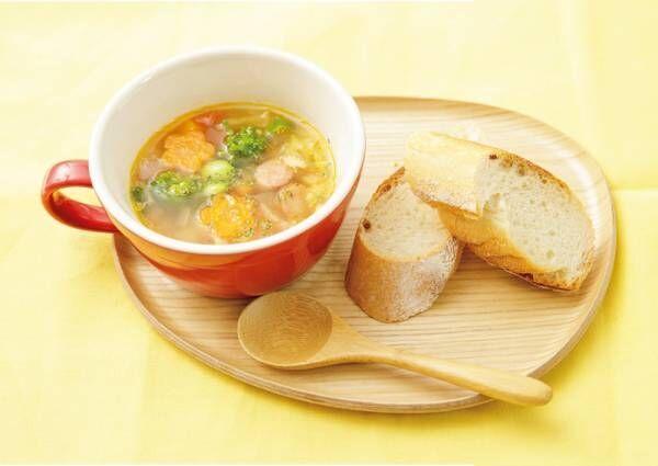 春のニンジンスープ