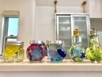 100均の造花と容器で人気のハーバリウムを作ってみた