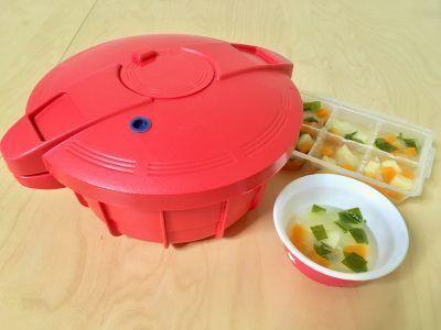 時短!便利!野菜スープの作り置きが乳幼児食にも大人の一品にも