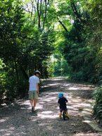 パパが息子の登園で自転車をかたくなに使わないワケは