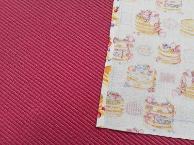 直線縫いだけで簡単!給食用ランチョンマットの作り方