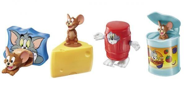 マクドナルドのハッピーセットにトムとジェリーのおもちゃが新登場
