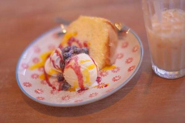 バニラアイスの自分流な食べ方「きな粉をかけて食べる」