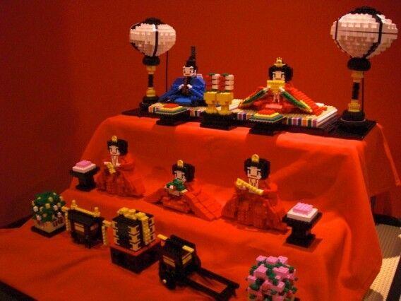 「レゴひな祭り」開催 ─ レゴランド・ディスカバリー・センター東京