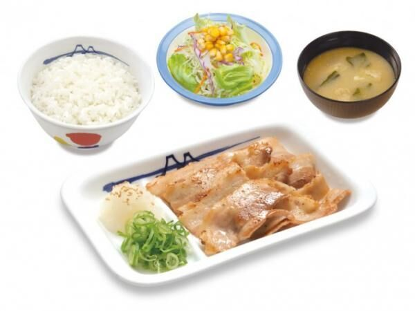 「ワンコイン豚定フェア」再び! 松屋が「豚バラ焼肉定食」を1月29日から期間限定で500円にて販売