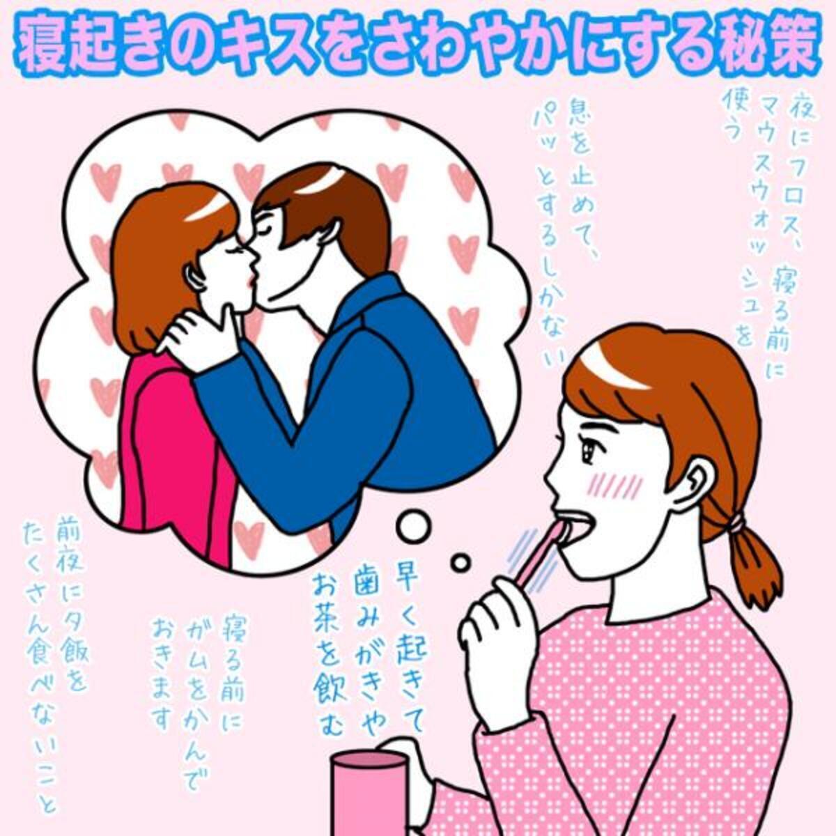 寝起きのキスをさわやかにする秘策【イラストコラム】(2016年1月13日