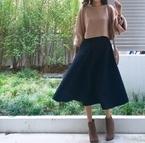 【全身ユニクロコーデvol.7】ボリューム感がかわいいJW ANDERSONのキルトスカート