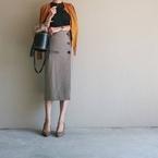 インスタや雑誌でも話題に! ZARAの「グレンチェックタイトスカート」攻略法