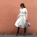 ホワイト×ブラックのシンプルコーデで、スヌーピーミュージアムへ #東京365日コーデ
