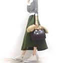 ゆったりキルトスカートで、残業終わりは「舎鈴」へGO #東京365日コーデ