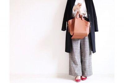 赤い靴でトラッドスタイルに女顔をON。武蔵小山の名物商店街を歩く #東京365日コーデ
