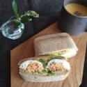 いやなことはホットサンドに挟んで、食べてしまおうか。 #おうちカフェ