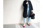 軽快な冬のマリンコーデは、ブラックでぴりっと辛口に #東京365日コーデ