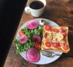狭い中には無限の空間が。秘密にしたい私だけの贅沢トースト #おうちカフェ