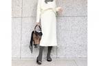 見た目は春。でも、着心地はほっこりな白ニットが丁度いい #東京365日コーデ