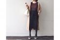 今どきハイウエストスカートは、ブラウンアイテムでシックに味つけ #東京365日コーデ