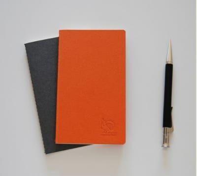さわり心地、クセになる。しっとり紙のノート