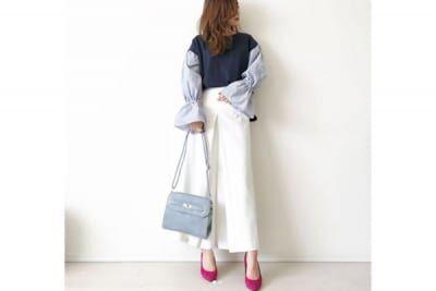 マンネリコーデを解消するのは、一枚で今っぽくキマる袖コンシャス #東京365日コーデ