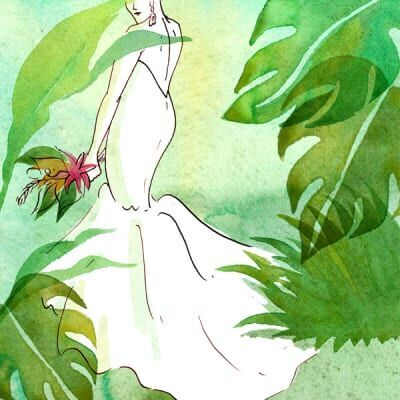体型に悩む私が、あえて「マーメイドドレス」を選んだ理由