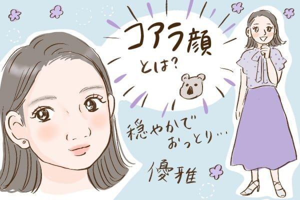 鼻が特徴的。コアラ顔の特徴6つ