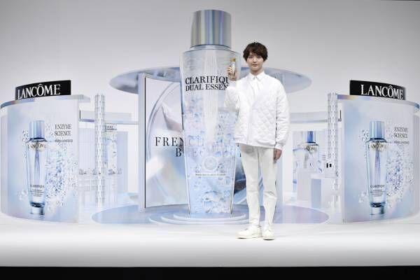 Kis-My-Ft2の玉森裕太、ランコム化粧水の周年イベントに登場