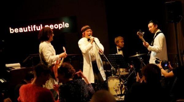 「ビューティフルピープル」2013年秋冬コレクション、デザインチームがメンズジャズバンドとして登場、イメージフィルムを公開