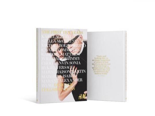 H&Mより、過去10年間のデザイナーコラボレーション本発売
