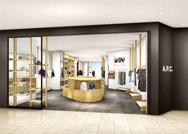 「アー・ペー・セー(A.P.C.)」の世界観をトータルで感じられるニューショップが2店舗オープン