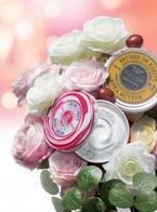 ロクシタンから、ホイップクリームのようなテクスチャーで華やかなローズが香り立つ「ホイップシア ローズ」シリーズを数量限定発売