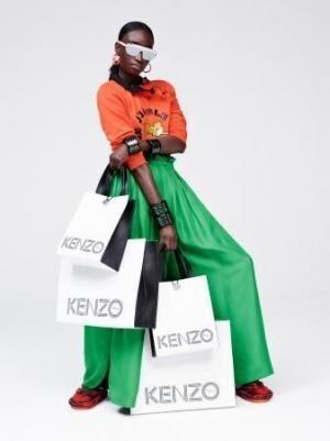KENZO x H&Mのキャンペーン画像を新たに公開。坂本龍一やクロエ・セヴィニーも登場