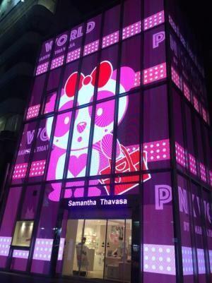 サマンサタバサ「PINK」がテーマのイベントを開催、11誌の人気雑誌とコラボレーション