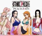 「ピーチジョン(PEACH JOHN)」×「ONE PIECE」ナミやハンコックモデルのコラボランジェリー発売