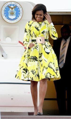 初来日を果たしたアメリカの大統領夫人ミシェル・オバマ