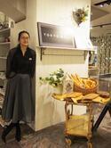 軍地彩弓プロデュースの新宿伊勢丹ポップアップ「東京ミュゼ」。辺見えみり、長谷川理恵のトークショーも