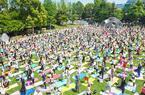 東京ミッドタウンのGWは体感型イベント。ギネス挑戦にヨガに読書も