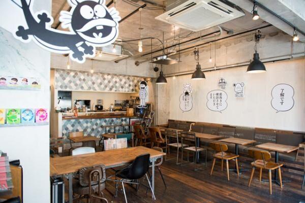 赤塚不二夫の生誕80 周年を祝した期間限定漫画喫茶「WOW!赤塚不二夫カフェ」がオープン