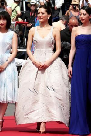 綾瀬はるか(Dior)/『海街diary』上映会 in 第68回カンヌ国際映画祭