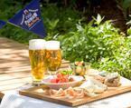二子玉川ライズに初の夏季限定ビアテラス、王室御用達の本格スペイン料理を提供