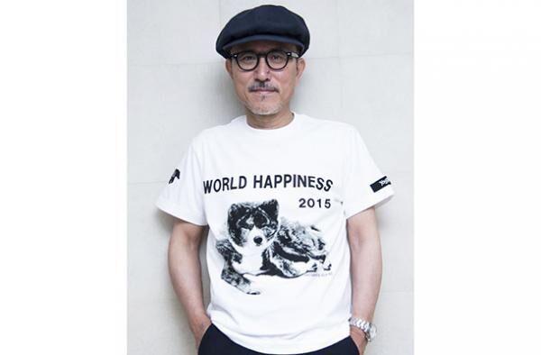 「グラウンド ワイ」が「WORLD HAPPINESS」とのコラボレーションTシャツを発売